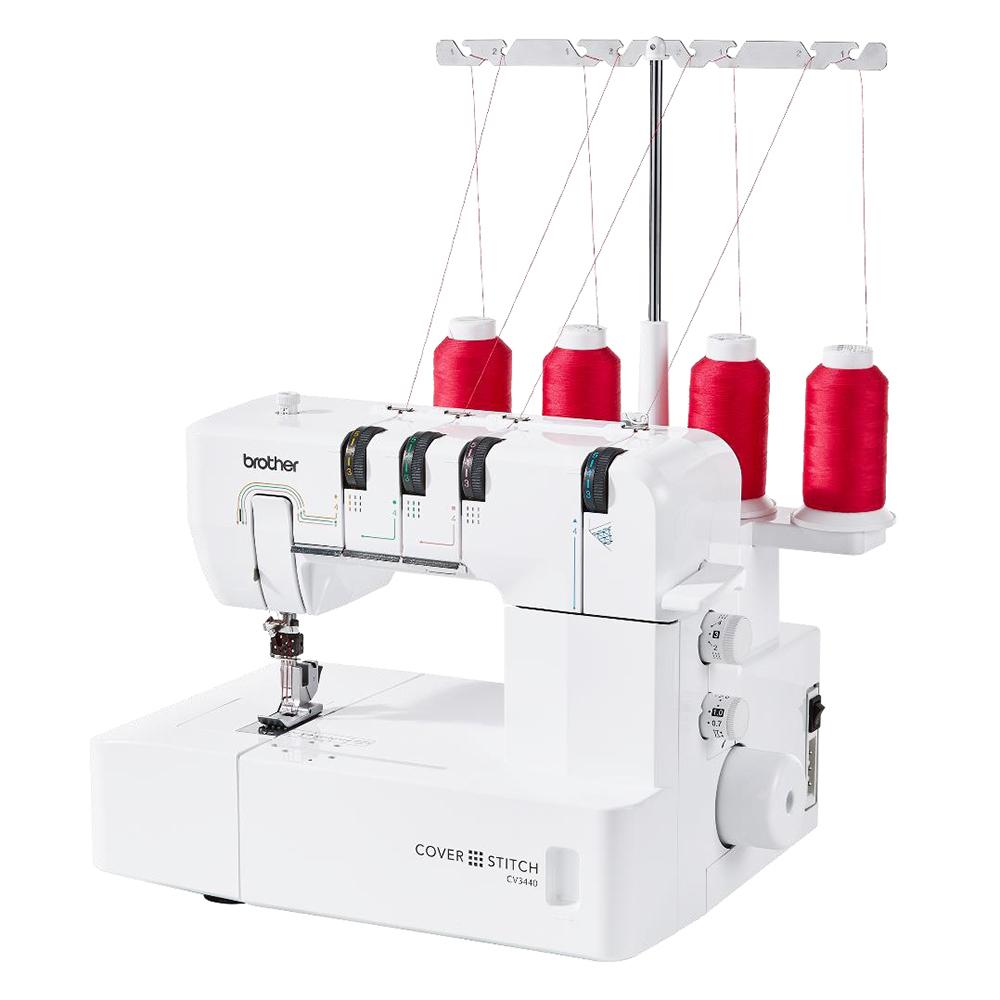 machine à coudre avec bobines